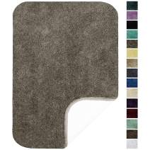 """Maples Rugs ColorSoft Non Slip Washable & Quick Dry Soft Bathroom Rugs [Made in USA], 23.5"""" x 39"""", Mocha Latte"""