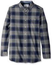 Original Penguin Men's Big and Tall Flannel Plaid Shirt