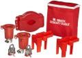 Brady Valve Lockout Pouch Kit, Includes 2 Steel Padlocks