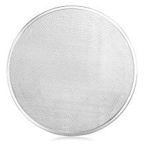 New Star Foodservice 50066 Seamless Aluminum Pizza Screen, Commercial Grade, 20-Inch, Pack of 12