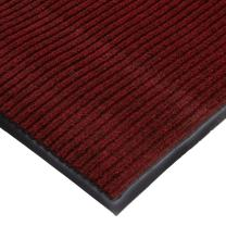 M+A Matting 870 Cobblestone Polypropylene Fiber Interior Floor Mat, Vinyl Backing, 6' Length x 3' Width, Brick