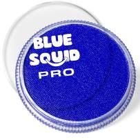 Blue Squid PRO Face Paint - Classic Royal Blue (30gm), Superior Quality Professional Water Based Single Cake, Face & Body Makeup Supplies for Adults, Kids & SFX