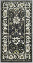Safavieh Vintage Hamadan Collection VTH214M Dark Grey and Ivory Area Rug (4' x 6')
