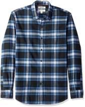 Amazon Brand - Goodthreads Men's Standard-Fit Long-Sleeve Brushed Flannel Shirt