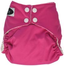 Imagine Baby Products Stay Dry All-in-One Snap Diaper, Raspberry