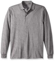 Jerzees menswomen's Spot Shield Long Sleeve Polo Sport Shirt