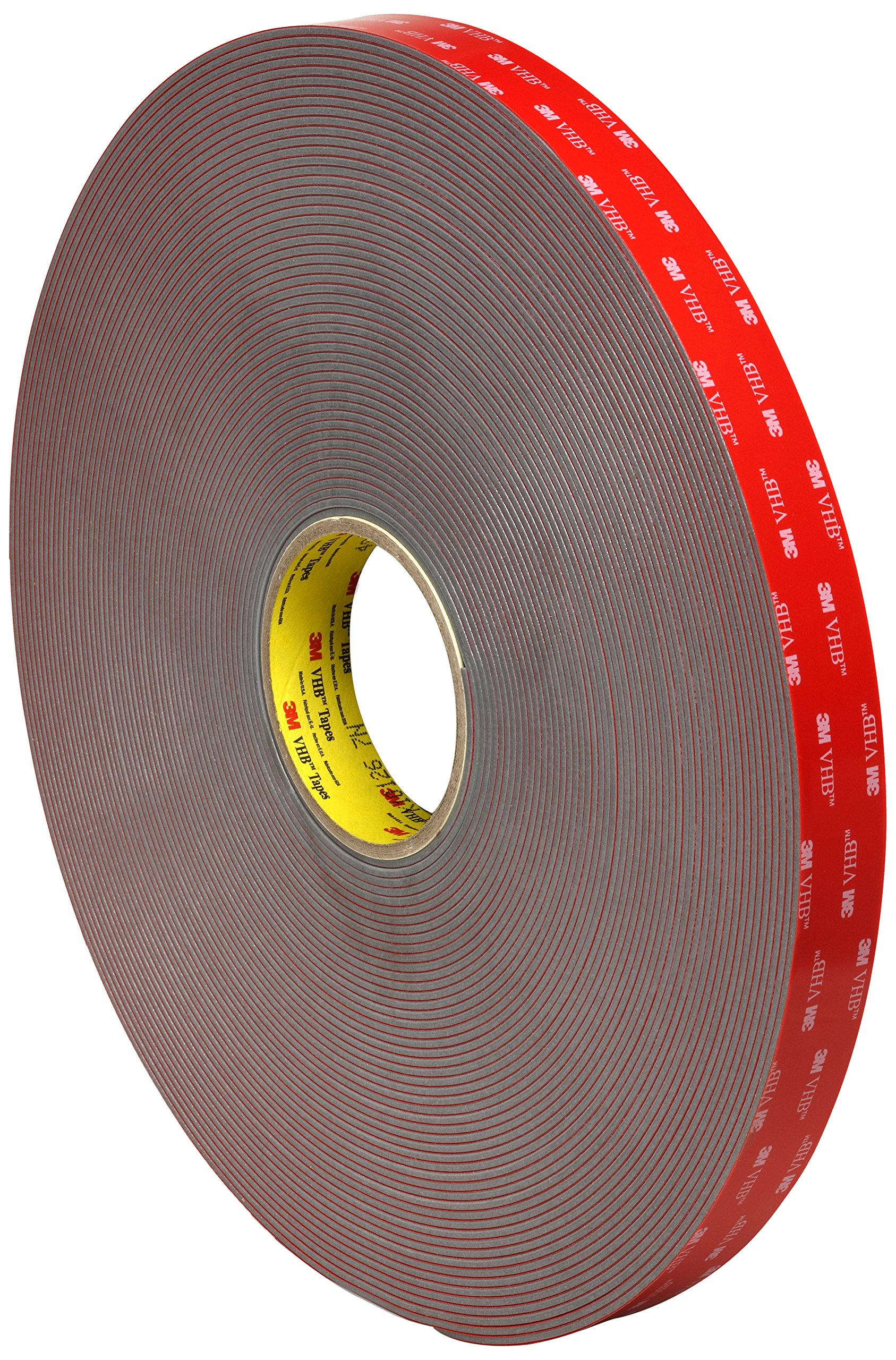 3M VHB Tape 4991, 2 in Width x 10 in Length (Pack of 6)