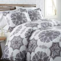 Southshore Fine Living, Inc. The Infinity Collection Comforter Sets, 2 Piece Set, Twin/Twin XL, Grey