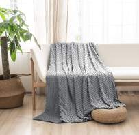 """MILDLY Duvet Cover for Weighted Blanket 60"""" 80"""" Weighted Blanket Cover Removable Soft Minky Cozy Fabric Queen Size Gray Color"""