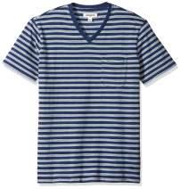 Amazon Brand - Goodthreads Men's Short-Sleeve Indigo V-Neck Pocket T-Shirt