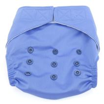 Dandelion Diapers Diaper Covers - Diaper Cover Shell with Hook and Loop- One Size - Compare to Grovia Shell - Periwinkle