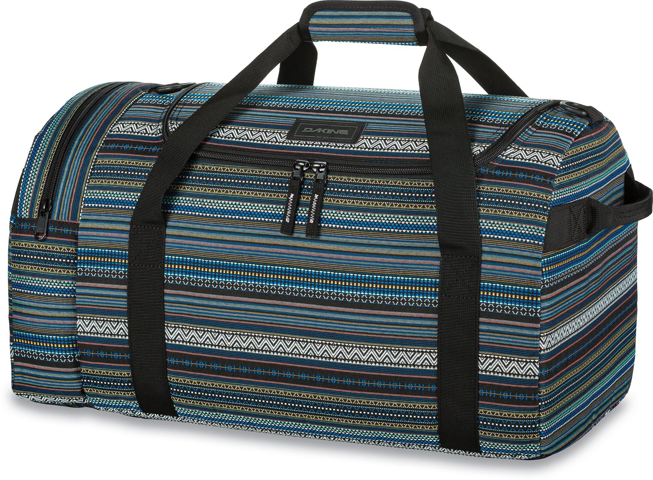Dakine - EQ Duffle Bag - U-Shaped Opening - Removable Shoulder Strap - External End Pocket - 23L, 31L, 51L & 74L