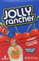 Jolly Rancher Jolly Rancher Singles to Go Water Drink Mix, Cherry Flavored Powder Sticks, (12 Boxes with 6 Packets Each - 72 Total Servings),, 72 Count ()