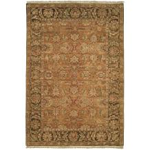 Safavieh Old World Collection OW115D Hand-Knotted Traditional Oriental Gold and Green Wool Area Rug (9' x 12')