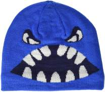LEGO Wear Kids & Baby Fleece-Lined Knit Patterned Hat, 3M Scotchlite Reflector Badge
