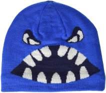 LEGO Wear Kids & Baby Fleece-Lined Knit Patterned Hat, 3M Scotchlite Reflector Badge