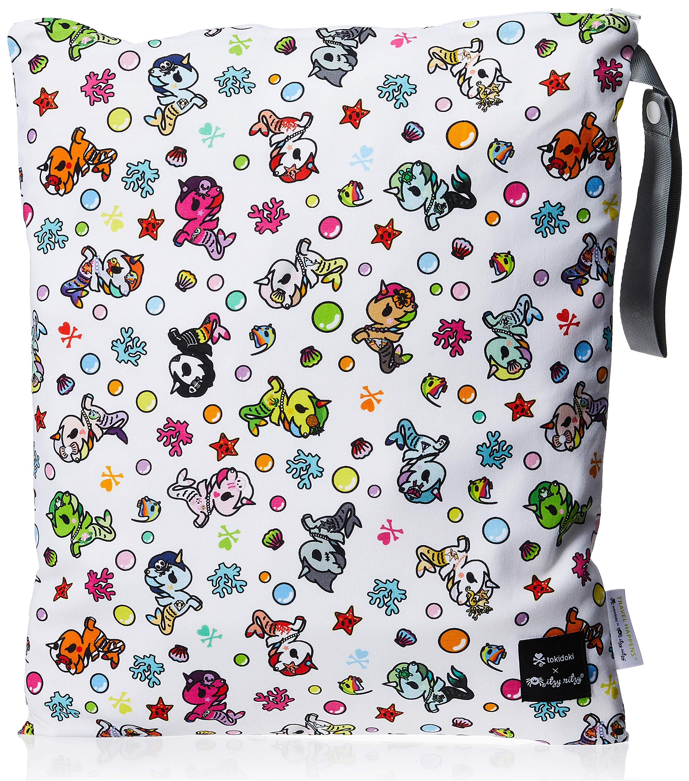 Grab and Go Waterproof Washable Reusable Diaper Wet Dry Cloth Diaper Bags,Lovely Owl