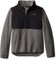 Under Armour Girls A Coldgear Infrared Survivor fleece Half-Snap