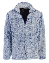 Gioberti Men and Women Super Soft Sherpa 1/4 Zip Pullover Sweater