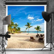 10 Pieces in Stock-Kate 6.5x10ft Tropical Rainforest Photography Backdrops Seamless Beach Photo Backdrop