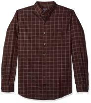 Van Heusen Men's Big and Tall Wrinkle Free Poplin Long Sleeve Button Down Shirt