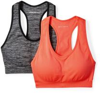 Amazon Essentials Women's 2-Pack Light-Support Seamless Sports Bras