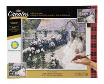 Plaid Creates Paint By Number Kit (16 by 20-inch), On the Terrace