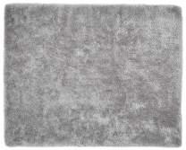 Safavieh Luxe Shag Collection SGX160C Handmade Grey Polyester Area Rug (8' x 10')