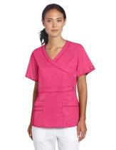 Dickies Scrubs Women's Gen Flex Mock Wrap Shirt