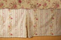 Greenland Home GL-WB0726-BSKQ Antique Rose Bed Skirt, Queen