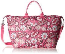 Vera Bradley Women's Lighten Up Expandable Travel Bag