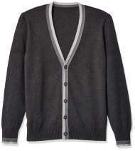 The Knitwear Lab Men's 3D Fine Gauge Sweater Cardigan