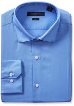 Marc New York Men's Slim Fit Solid Dress Shirt