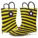 Sara Z Toddler Girls Printed High Cut Puddle Proof Rain Boots (See More Designs and Sizes)