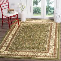Safavieh Lyndhurst Collection LNH331C Traditional Oriental Sage and Ivory Area Rug (4' x 6')