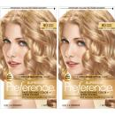 L'Oreal Paris Superior Preference Fade-Defying + Shine Permanent Hair Color, 8G Golden Blonde, Pack of 2, Hair Dye