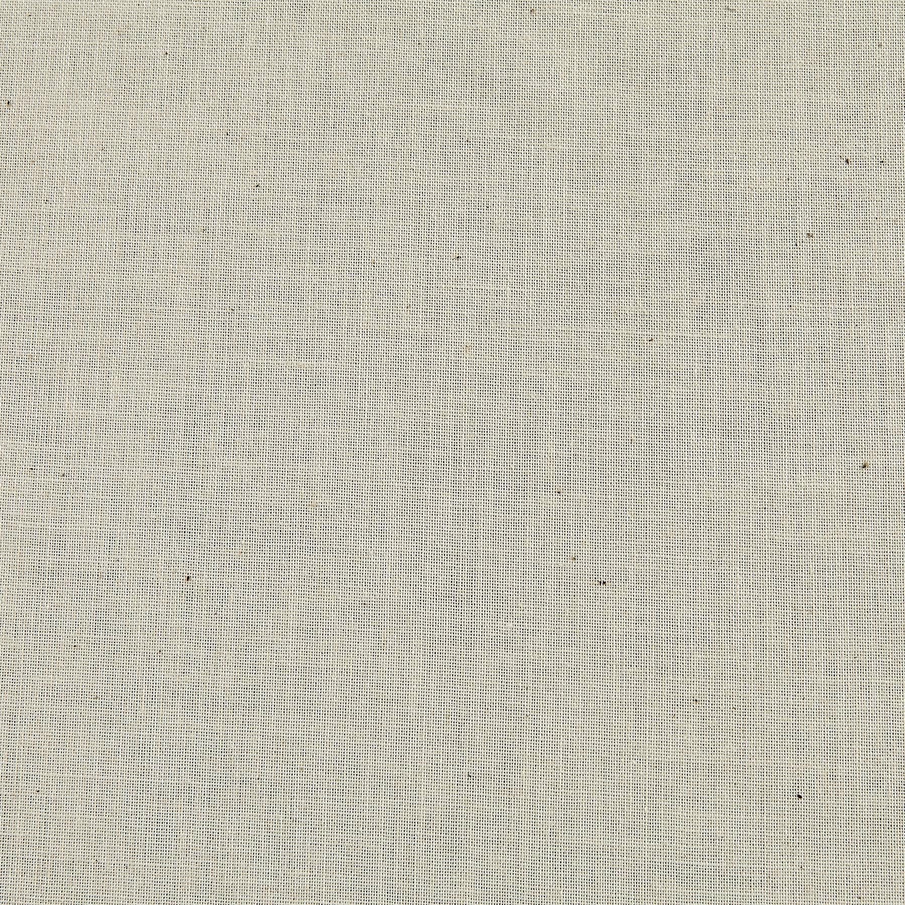 James Thompson Meadowlark Premium Muslin Natural Fabric By The Yard
