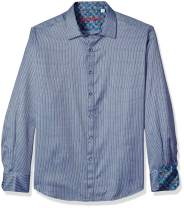 Robert Graham Men's Garvey Long Sleeve Classic Fit Shirt