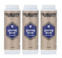 Fromonda (Soothe) Body Powder unscented (5 oz, 3-Pack) Unisex, Talc-Free, Anti-Chafing, Sweat Defense with Essential Oils
