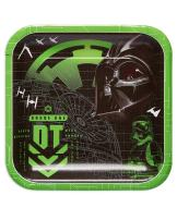 AMERICAN GREETINGS Rogue One: A Star Wars Story Paper Dinner Plate, 8-Count
