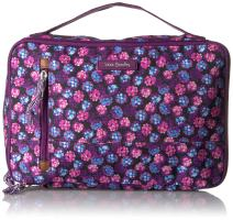 Vera Bradley Lighten Up Large Blush & Brush Makeup Organizer Case