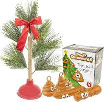Fairly Odd Novelties Christmas Ornaments, Multi-colored