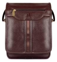 Crossbody Bag Messenger Bag Crossbody Messenger Bag Shoulder Bag Small Messenger Bag Shoulder Messenger Bag with Shoulder Crossbody Shoulder Bag Crossbody Purse Leather Bag Leather Crossbody (Brown)