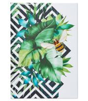 Papyrus Desk Accessories, Tropical Bee Journal, 1-Count