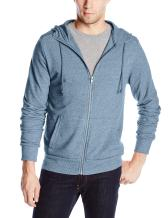 Alternative Men's Rocky Mock Neck Front-Zip Hoodie
