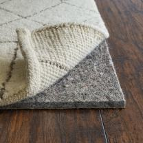 """RUGPADUSA, Anchor Grip, 4'x6', 3/8"""" Thick, Felt + Rubber, Cushioned Non-Slip Rug Pad, Available in 3 Thicknesses, Many Custom Sizes, Safe for All Floors"""