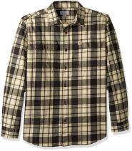 Carhartt Men's Hubbard Plaid Flannel Shirt