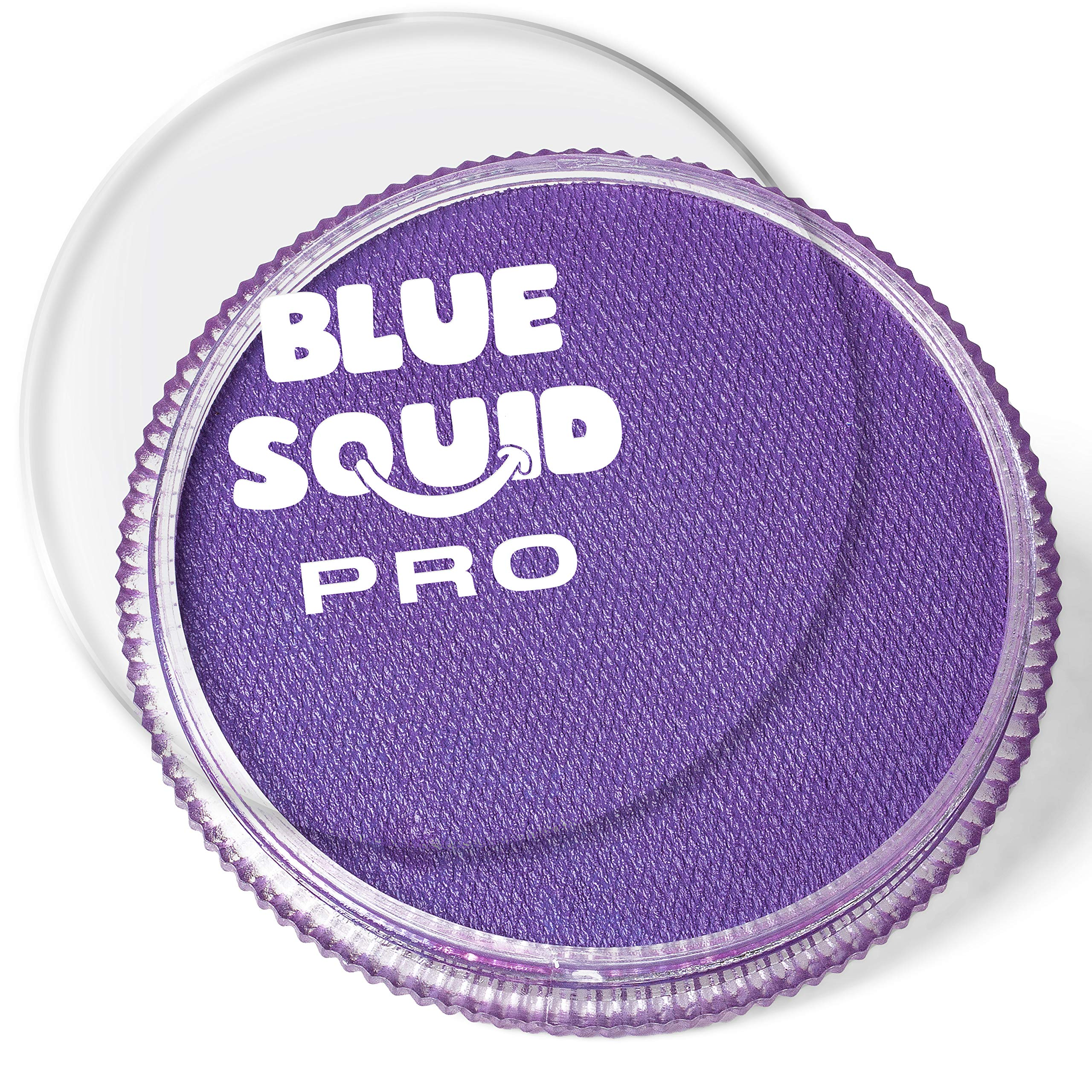 Blue Squid PRO Face Paint - Classic Purple (30gm), Superior Quality Professional Water Based Single Cake, Face & Body Makeup Supplies for Adults, Kids & SFX