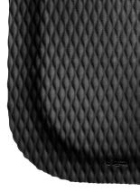 """M+A Matting 421 Nitrile Rubber Hog Heaven Anti-Fatigue Mat with Black Border, 3' Length x 2' Width x 5/8"""" Thick, for Dry Areas"""