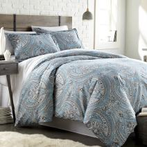 Southshore Fine Linens - The Pure Melody Collection - Comforter Sets, 2 Piece Set, Twin/Twin XL, Aqua
